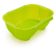 Rectangular Colander, Green