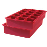 Perfect Cube Ice Tray, Red