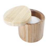 Two-Tone Bamboo Salt Box