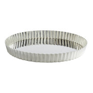Tinned Steel Tart Pan, 9 1/2 , 9.5