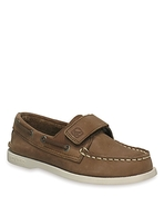 Boys' A/O Leather Boat Shoes - Toddler