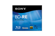 25GB BD-RE Rewritable Disc BNE25RH/2