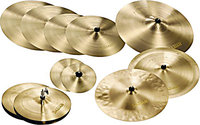Paragon Complete Cymbal Set with Flight Case