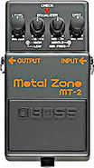 MT-2 Metal Zone Effects Pedal