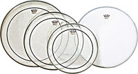 Pinstripe ProPack Drumhead Set with Coated Ambassa