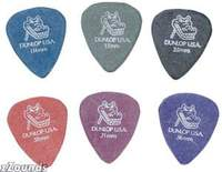 Gator Grip Standard Picks (12) - Blue (1.14mm)
