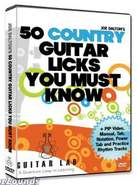 50 Country Licks DVD Video