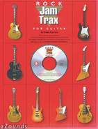 Jam Trax Rock For Guitar Book and CD