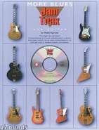 More Blues Jam Trax For Guitar Book/CD