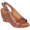 Marigold Coffee Bean Leather Women's