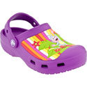 Dora Multistripe Custom Clog Dahlia Kids&#39;s