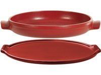 2-pc. Flame Top Tarte Tatin Set, Rouge