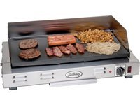 21x12-in. Professional Griddle with Splatter Guard