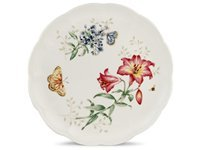 10.75-in. Butterfly Meadow Dinner Plate, Fritillar
