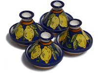 Set of 4 Citronique Mini Serving Tagines