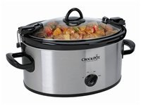6-qt. Cook N carry Slow Cooker with Locking Lid, S