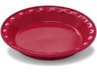 9-in. Easy As Pie Pie Dish, Apple Red