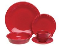 20-pc. Dinnerware Set, Scarlet