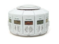 12-bottle Spice Carousel, White