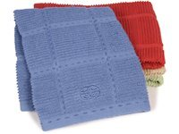 17x30-in. Terry Towel, Blueberry