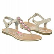 In The Twist Sandals (White/Pink) - Kids' Sandals