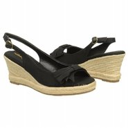 Brie Sandals (Black Twill Fabric) - Women's Sandal
