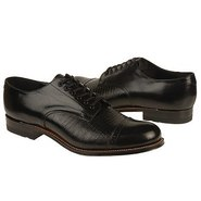 Madison Shoes (Black Kid W/ Liz Prt) - Men's Shoes