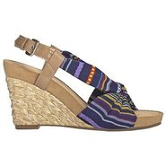 Plush Pillow Sandals (Blue Multi) - Women&#39;s Sandal