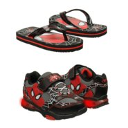 Spiderman Shoes (Black/Red) - Kids' Shoes - 9.0 M