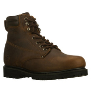 Foreman Steel Toe Boots (Dark Brown) - Men's Boots