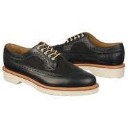 Alfred Brogue Shoe Shoes (Navy) - Men's Shoes - 14
