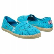 Bobs Doily Shoes (Turq) - Women's Shoes - 11.0 M