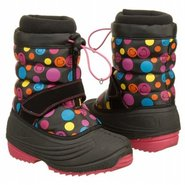 Snowscape Boots (Black/Pink Hearts) - Kids' Boots