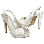 Danielle Shoes (White Silk Satin) - Women's Shoes