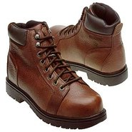 Manawa Steel Toe Boots (Brown) - Men's Boots - 7.5