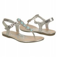 In The Twist Sandals (Silver/Blue) - Kids' Sandals