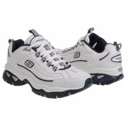 Afterburn Shoes (White/Navy) - Men's Shoes - 15.0