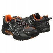 Gel Ventures 3 Shoes (Charcoal/Orange Wide) - Men'