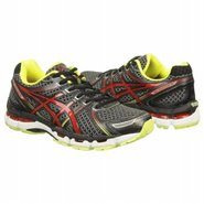 KAYANO 19 Shoes (Black/Red/Lime) - Men&#39;s Shoes - 1