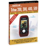 Magellan Triton 200/300/400/500 Instructional DVD