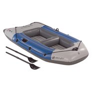 Colossus 3 Person Inflatable Boat w/ Oars