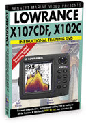 Lowrance LMS-33x Series Instructional DVD by Benne