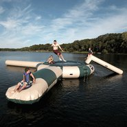 Rave Aqua Jump 150 Northwoods w/ Launch &amp; Log