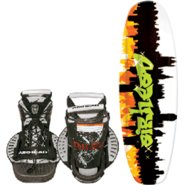 AIRHEAD Graffiti City Wakeboard w/ Clutch Bindings