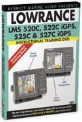 Lowrance LMS 520C/522C/525C/527C Instructional DVD