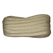 Double Braid Nylon Dock Line - 1/2 x 15' - White N