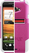 Commuter Series for HTC EVO 4G LTE - Pink/White