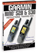 Garmin Rino 520/530 Instructional DVD by Bennett M