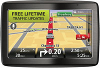 VIA 1435T Wide-Screen Bluetooth GPS System w/ Life