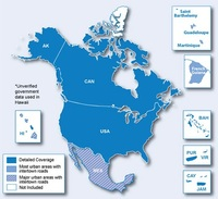 City Navigator NT North America Pre-Programmed Dat